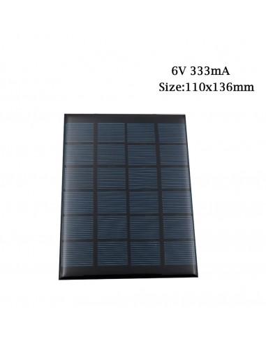 Solar Panel 6V 2W (333mA)