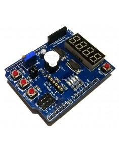 Многофункциональный шилд (Multi-function Sield) для Arduino Uno