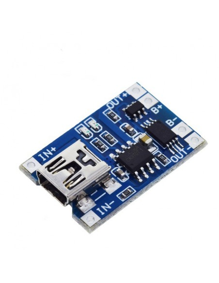 TP4056 Lithium Battery Charging Board 1A MiniUSB