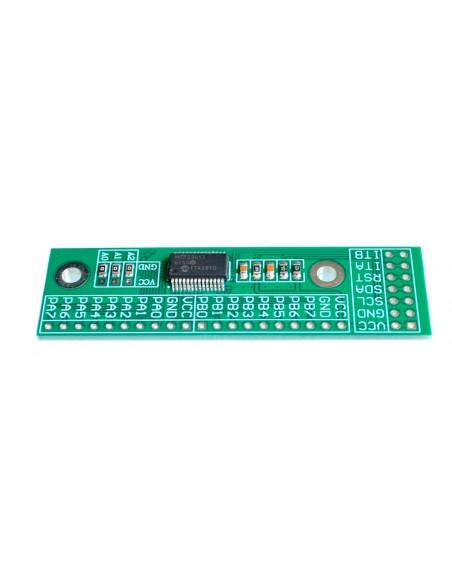 MCP23017 16-Bit I/O Expander 10Mhz Long