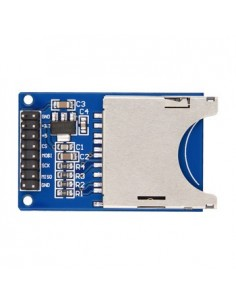 Read and write on a SD card module