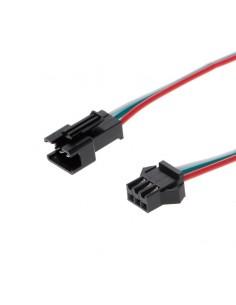 3 Pin JST SM Connectors Female Male 15CM