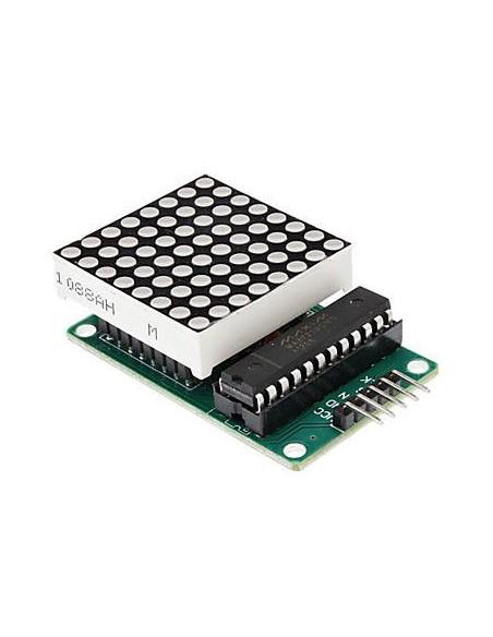 MAX7219 Dot Led Matrix Module MCU