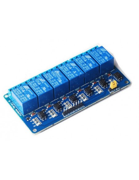 6-Channel 12V Relay Module