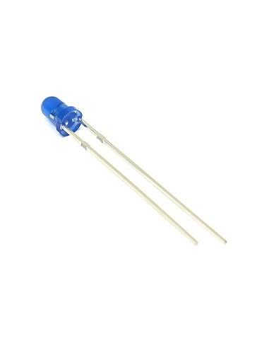 LED BLUE - 3mm 20mA 3.0V-3.2V