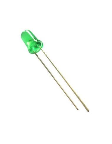 LED Green - 5mm 20mA 3.0V-3.2V