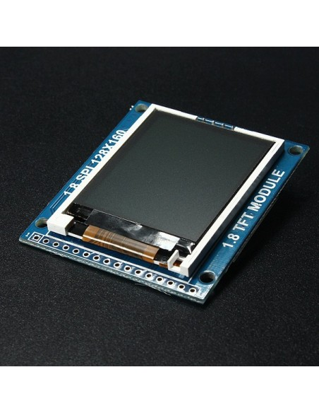"1.8"" 128x160 TFT LCD Display Module with SD (SPI)"