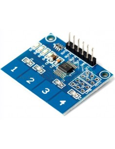 4 way Capacitive Touch Switch Module with LED TTP224