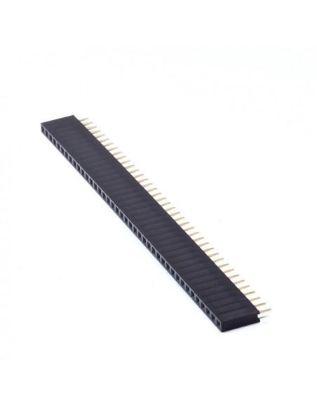 40Px1 6x2.54mm female socket