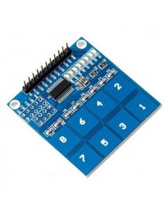 8 way Capacitive Touch Switch Module with LED TTP226
