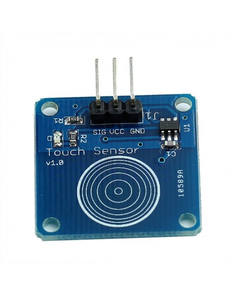 1 way Capacitive Touch Switch Module with LED TTP223B