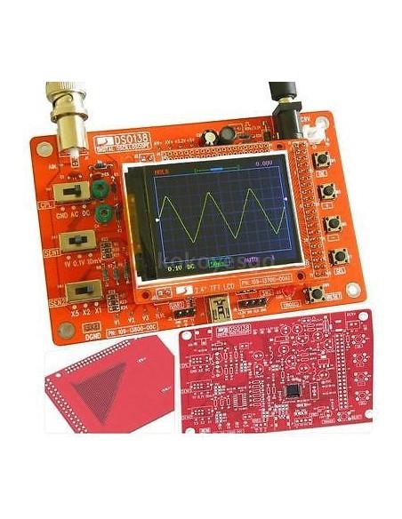 Digital oscillograph DSO138 (no SMD)