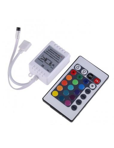 LED RGB pārvaldes bloks - 12V (6A)
