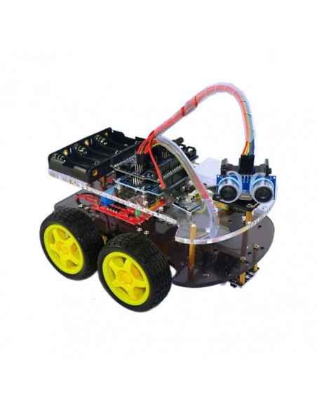Motor Smart Robot Car 4WD