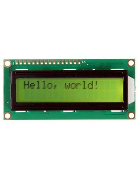 LCD 1602 Green