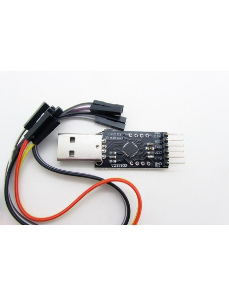USB to TTL With DTR CP2102