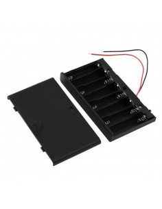 8 x AA Batteries Holder 12V ON/OFF
